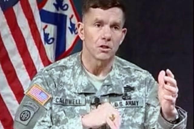 Lt. Gen. William Caldwell IV