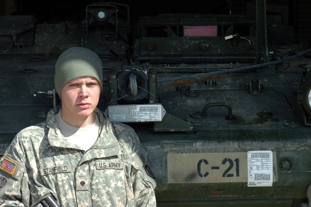 Spc. Christopher Stanfield
