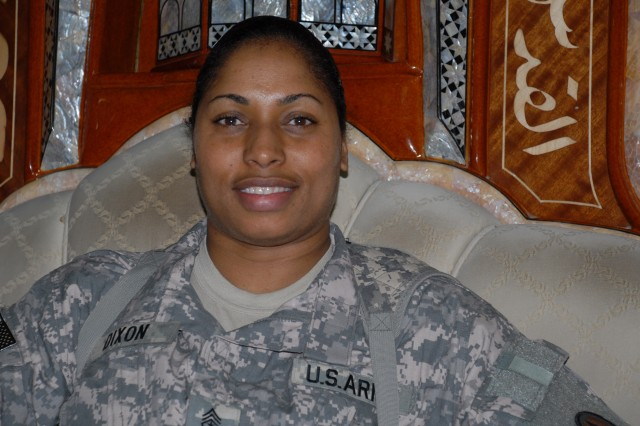 Sgt. Maj. Monica J. Dixon