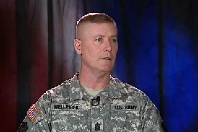 Command Sgt. Maj. Jeffrey J. Mellinger