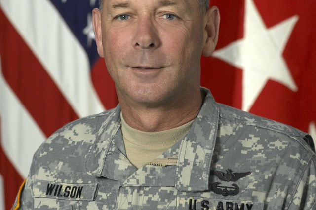 Lietenant General Robert Wilson, Assistant Chief of Staff for Installation Management and IMCOM Commanding General.