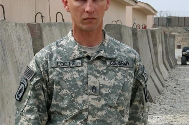 Sgt. 1st Class Michael Loetz quote