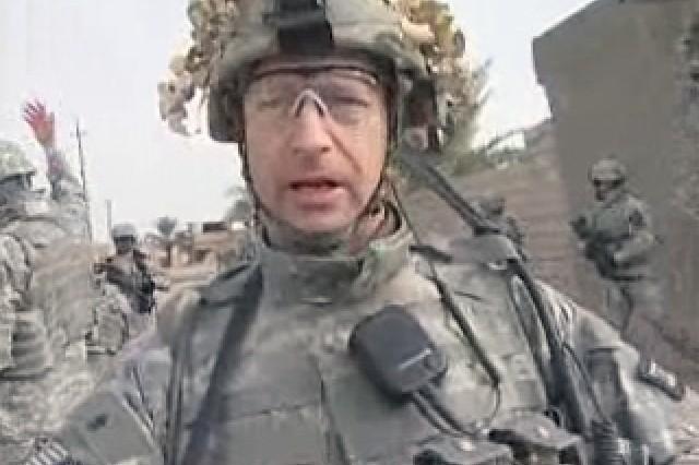 Lt. Col. Ross Davidson, Commander, TF Falcon