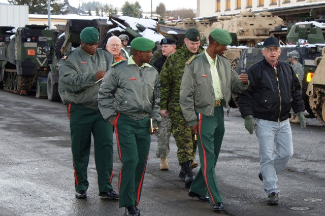 Botswanan logistics officers learn deployment procedures during Germany visit