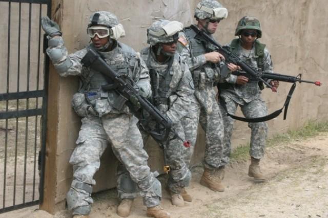 Instructors complete urban combat training