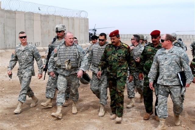 Col. Tom James, commander, 4th Brigade Combat Team in Iraq.
