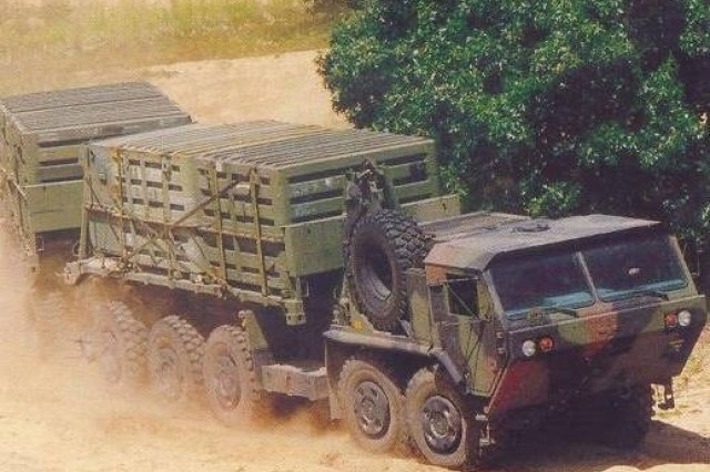 Land wheeled vehicle and cargo handling operations are among the many missions of the 7th Sustainment Brigade at Fort Eustis, Va.