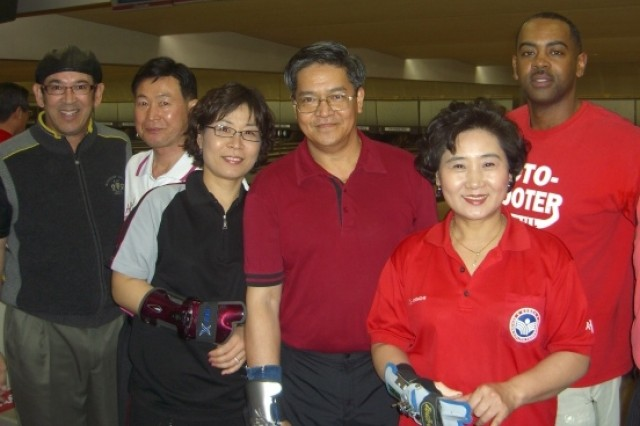 American and Korean bowlers get together Feb. 18 for the first time at the KBS 88 Sports Center in Seoul for a Korean-American Friendship tournament.