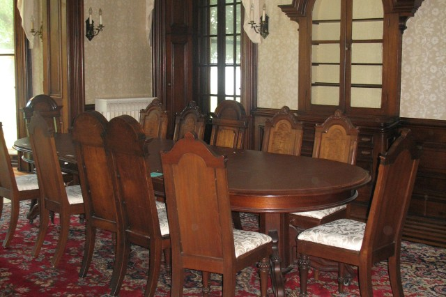 """Quarters One Dining Room"""""""