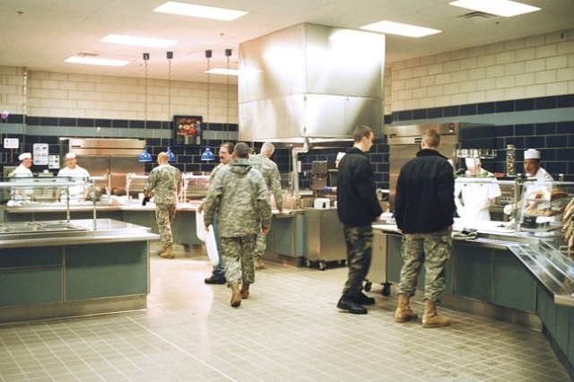 The Aviation Dining Hall is part of the Wheeler Sack Army Airfield Barracks project completed April 2007.