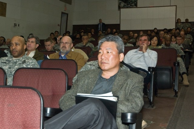 More than 250 Yongsan Garrison building managers meet March 11 to discuss how to care for Yongsan facilities.