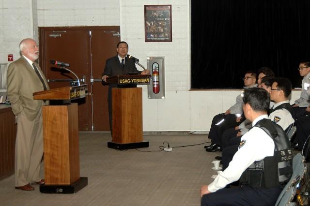 Garrison holds appreciation day for Korean policemen