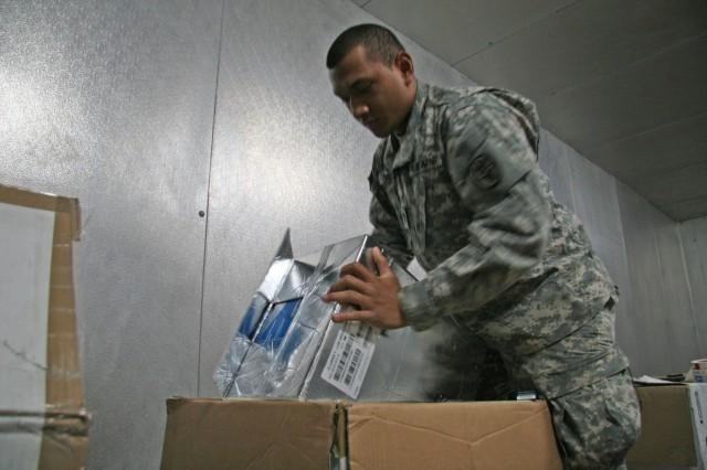 Preparing Vaccine Shipment