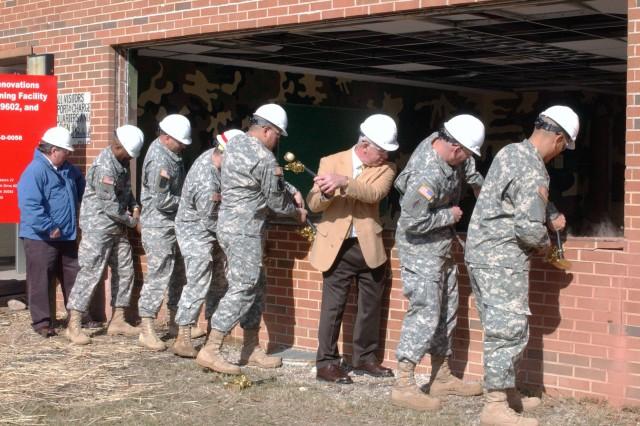 Wall-Breaking Ceremony