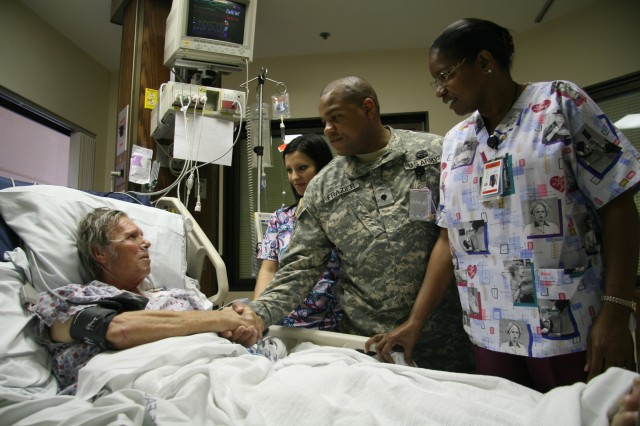 Tripler Soldier saves life enroute to honor for saving lives