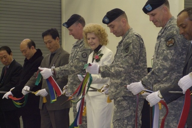 AFSBn-NEA new facility ribbon cutting