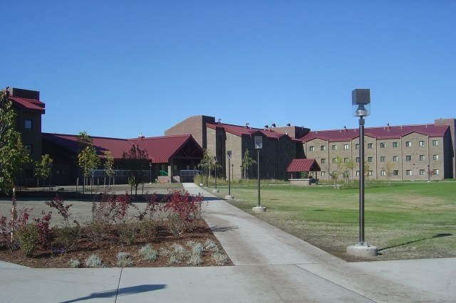 A new $41.8 million barracks facility will be capable of housing 360 unaccompanied Soldiers assigned to the 4th Brigade Combat Team, 25th Infantry Division at Fort Richardson.