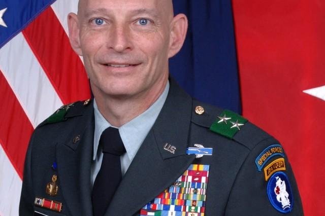Maj. Gen. Keith M. Huber