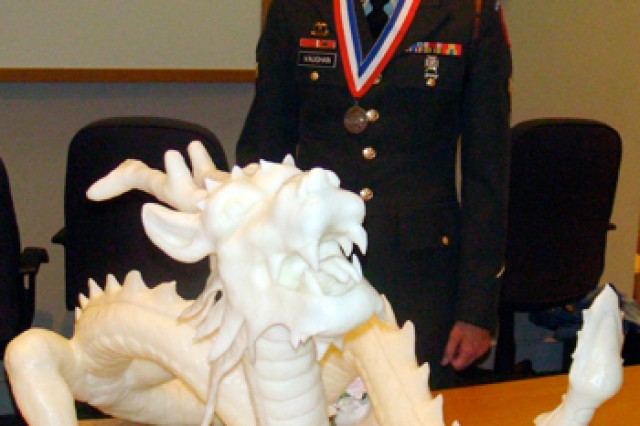 Old Guard Soldier cooks up prize-winning creation