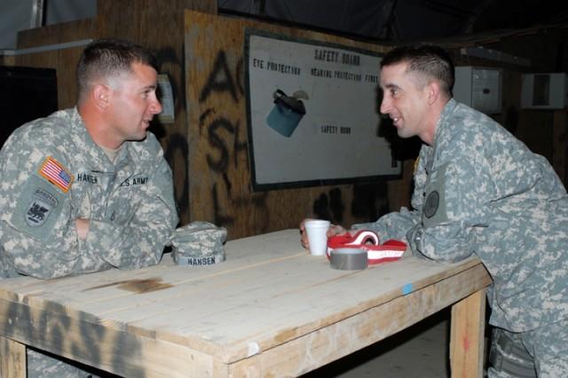 Deployment, mission change bring brothers together at Camp Taji
