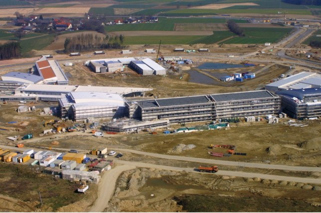 Grafenwoehr construction