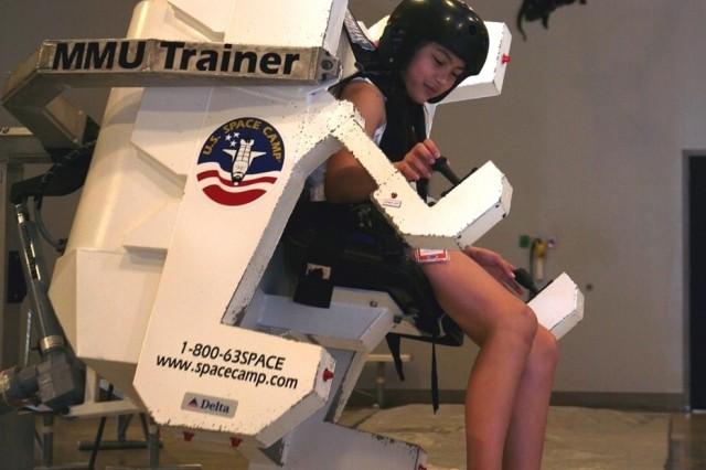 2007 Scholarship Winner in Action