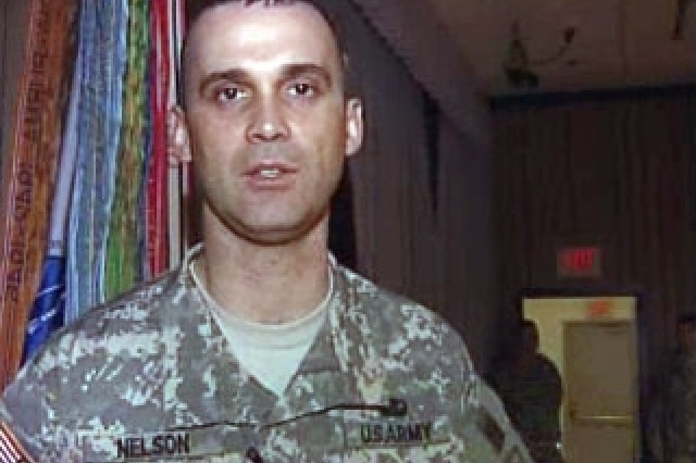 Sfc. Barry Nelson, Small Group Leader
