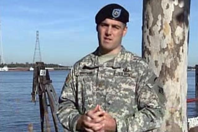 Maj. Jeremy Chapman, Senior Project Manager, USACE
