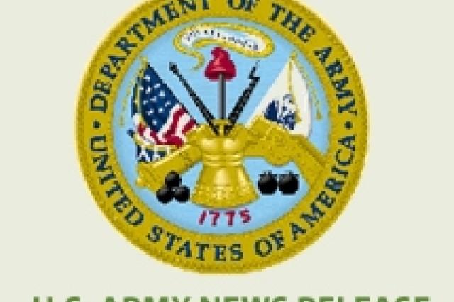 U.S. Army News Release