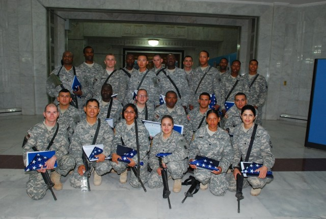 Troops Become U.S. Citizens in Iraq Ceremony