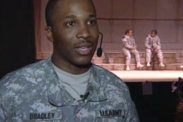 Pvt. 1st Class Leroy Bradley, Singer / Dancer