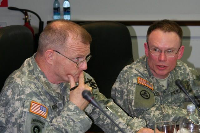 21st TSC Commander visits 405th AFSB
