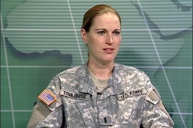 1st Lt. Sharon Toulouse
