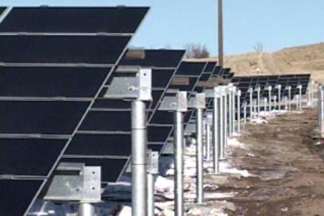 Solar Arrays in Ft. Carson