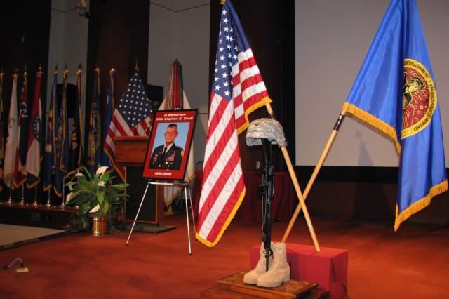 Honoring Fallen Soldier