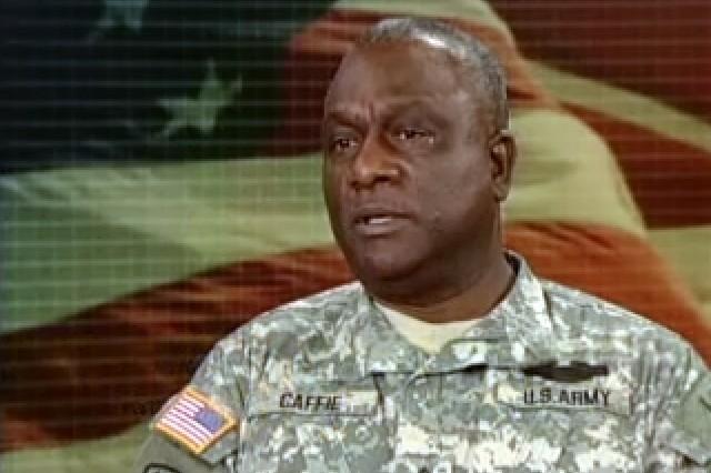 Command Sgt. Maj. Leon Caffie