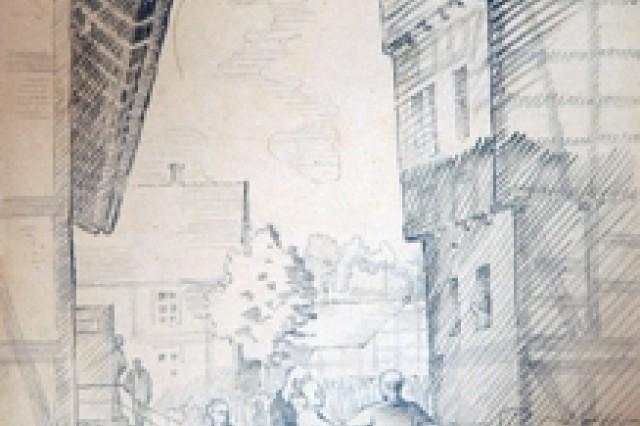 Nephew of late German artist donates World War II prisoner of war drawings to U.S. Army