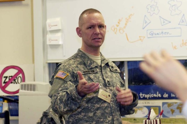Master Sgt. Scott Penhollow, U.S. Army Garrison Kaiserslautern's equal opportunity advisor, is the 2008 Volunteer Soldier of the Year for the Kaiserslautern Military Community.
