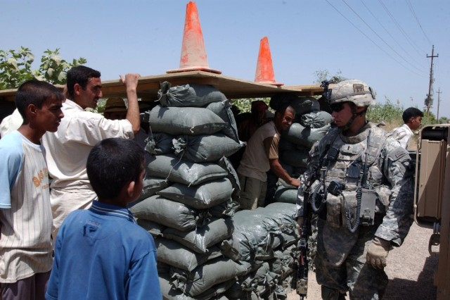 Sons of Iraq Help Secure Fuhail Village