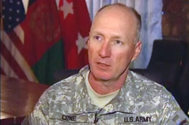 Maj. Gen. Robert Cone