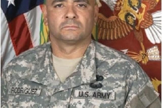405th AFSB welcomes CSM Ismael Rodriguez