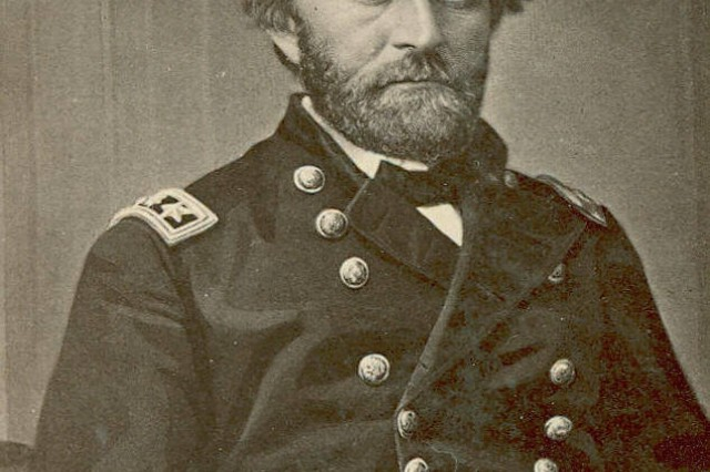 Ulysses S. Grant, General-in-Chief of the U.S. Army, (Massachusetts MOLLUS Photograph Collection).
