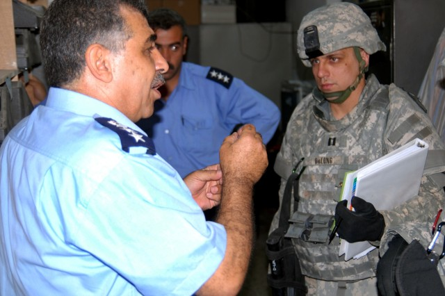 18th Military Police Brigade experts assess, improve Iraqi police communications systems