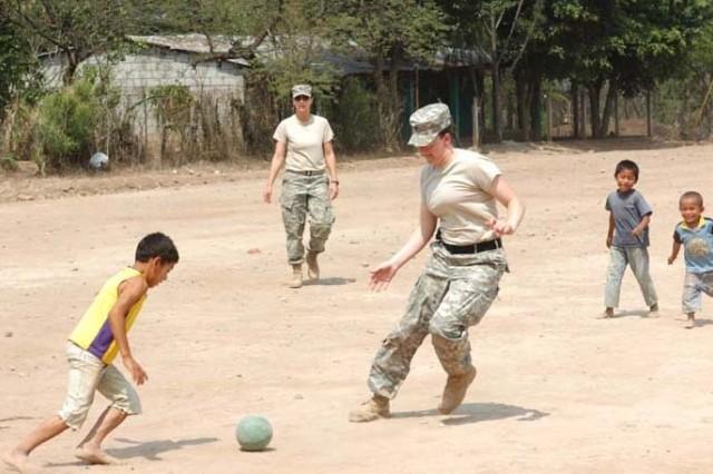 Soccer Day in La Mesas