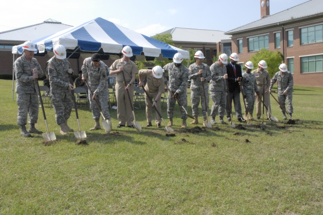 Joint-service chaplain school ground broken; completion set for fall 2009