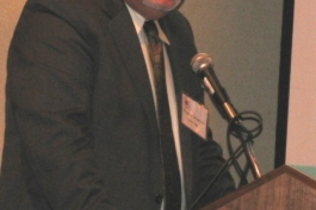 Richard Alpaugh, deputy to the commanding general of the Army Security Assistance Command