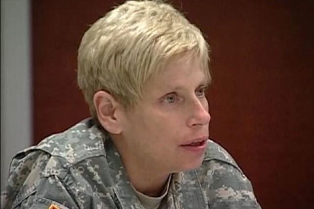 Maj. Gen. Barbara Fast, Deputy Director of the Army Capabilities Integration Center