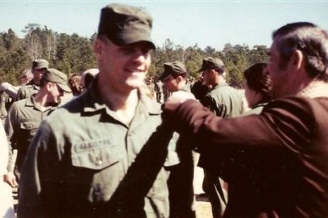 Col. Hamilton Completes Ranger School in 1980