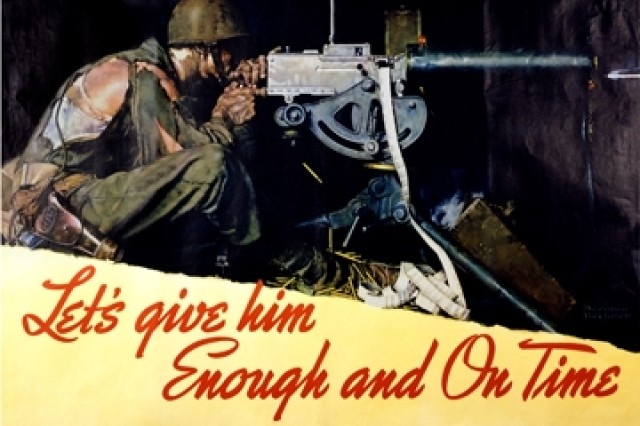 Date: 1942 (Army Heritage Museum Poster Collection).