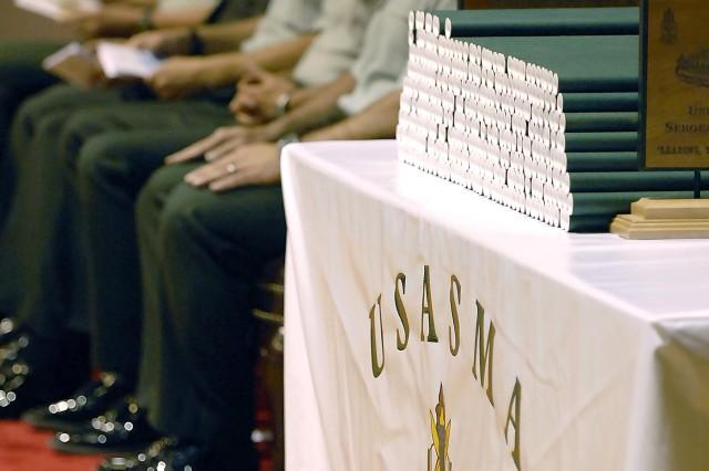 337 USASMA students, faculty, staff earn diplomas